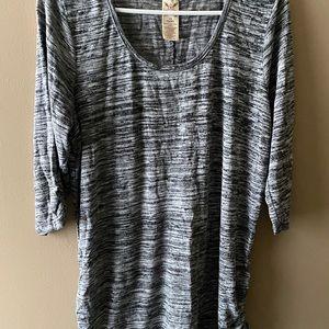 Cute 3/4 length sleeve blouse
